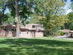 Adobe Hacienda With 3 Shady Acres and Pool