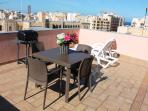 Charming and Sunny 2 bedroom penthouse in Sliema
