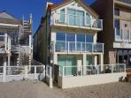 Silverstrand beach oceanfront 3 story home, newer built