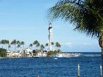 Waterfront Studio Pompano Bch Fl.  Lighthouse View