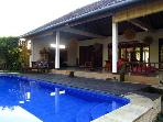 Spacious tranquil house, walking distance to Ubud