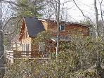 Chalet with River and Mountain Views - New River Access, Lake, Near Todd NC