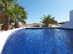 WhiteCaps Ibiza, Rent a Villa in Es Canar with Direct Beach Access