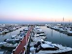 Frontline Marina, Puerto Banus Top floor apartment