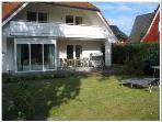 Vacation Bungalow in Prerow - 1292 sqft, satellite TV and radio, garden furniture available (# 1465) #1465