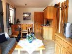 Vacation Apartment in Schnau am Knigssee - 355 sqft, quiet, clean, relaxing (# 1598) #1598