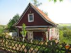 Vacation Apartment in Colditz - 861 sqft, idyllic wooden house, beautiful, relaxing (# 2563) #2563