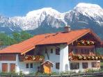Vacation Apartment in Schnau am Knigssee - 431 sqft, spacious, woodburning stove (# 3006) #3006
