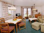 Vacation Apartment in Ruhpolding - 612 sqft, very comfortable, separate bedroom, sauna (# 74) #74