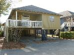 Summer Cottage 2nd Row Myrtle Beach South Carolina