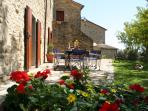 Apartment LECCIO in medieval village with pool