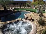 Troon North Golf Rental-Putting Green/Private Pool
