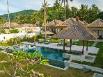 Spectacular 3BR ocean front villa, Candidasa Bali