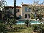 Mas Charmant Villa in Provence, St. Remy villa, holiday rental in St. Remy