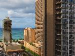 Waikiki Banyan #2002 T-1 - One bedroom vacation rental with partial ocean view – 1.5 blocks to beach!