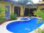 EcoVida Casa Famosa with Pool at Playa Bejuco