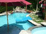 Guest Cottage Oasis w Salt Water Pool-Hollywood CA
