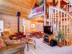 Log cabin home located 1 mile from Lake Dillon - 597 Deerpath