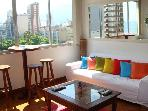 Ipanema Beach,Lovely 4/3, Wifi, Cable, Air Cond Steps from the Beach, 24 hours Food Market & Subway Station