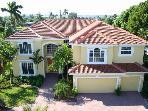 4 bed and 5 bath waterfront villa in Cape Coral