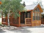 "Cozy ""Modular"" Style 1 BR with Sleeping Loft Cabin at Three Rivers Resort in Almont (#49)"
