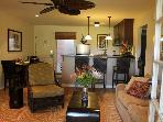 Walk Out to Pool from 2BD/2BA luxurious condo