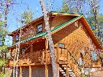 Lilac Log Cabin Pigeon Forge - Gatlinburg