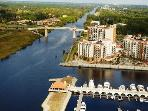 Grande Condo Located on the Water w/ Marina View