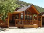 "Cozy ""Modular"" Style 1 BR with Sleeping Loft Cabin at Three Rivers Resort in Almont (#40)"