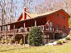 &#39;Red Diamond Lodge&#39; - 4BR Maggie Valley Home Close to Slopes - Cleaning Fee Waived!!