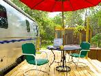Luxury Airstream - A Little Piece of Texas Heaven! *Private Hot Tub*