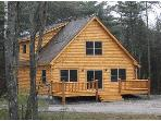 Birch Woods Log Home