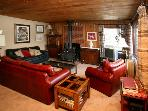 LAKEFRONT 3 bdrm. SKI CHALET in the Laurentians