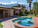 PALM SPRINGS VILLA - POOL & JACUZZI