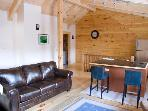 Woodstock Vermont Village Log Home Apartment