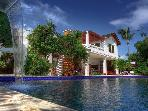 Beachfront luxury villa in Las Terrenas, Dominican Republic