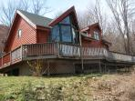 June 15% off- Secluded Log Cabin, Gorgeous views