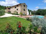 5-bedroom Tuscan Villa w/pool near Siena+Florence