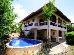 Casa Papaya con Leche-Cozy 2 br Beachfront w/ Pool