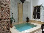 ENTIRE RIAD FOR RENT HEART OF MEDINA WI-FI & POOL