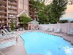 Streamside 2 Bedroom 2 Bath Condo Minutes from Downtown (sleeps 6)