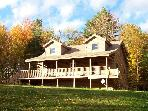 Lovely 3 BR Log Home, White Mountains, Sleeps 8-10