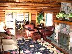 Authentic Log Cabin - Crystal Clear Whitefish Lake