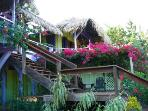 Casa Beya: Colorful, private BEACH house:dock&wifi