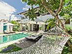 Bay view villa Cantik. SPECIAL 1- and 3-bdr rates.