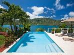 Luxury 2 bedroom St. Thomas, USVI villa. Overlooks Magens Bay