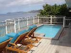 Luxury 3 bedroom St. Thomas, USVI villa. Great oceanfront location