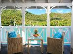 Bay and Sea  View Marigot Marina Apartment
