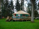 Seaview Game Farm Yurt