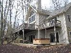 4 Bedroom Secluded Luxury Home on Deep Creek Lake